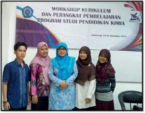 Workshop Kurikulum Kimia Unimus 2015